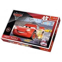 PUZZLE AUTA CARS 3 24 MAXI...